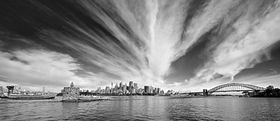 Photograph - All Lines Lead To Sydney by Chris Cousins