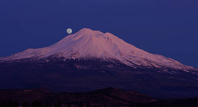 Mt. Shasta Photograph - All My Blood Turned To Wine by Loree Johnson