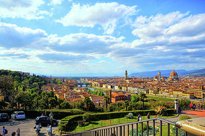 Photograph - All Of Florence by JAMART Photography