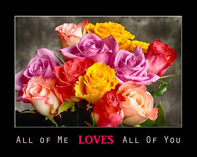 Photograph - All Of Me Loves All Of You by James BO  Insogna
