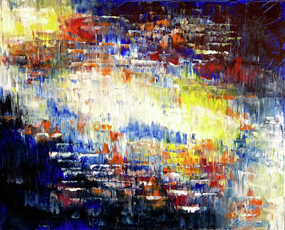 Painting - All Of The Lights by Jennifer Godshalk