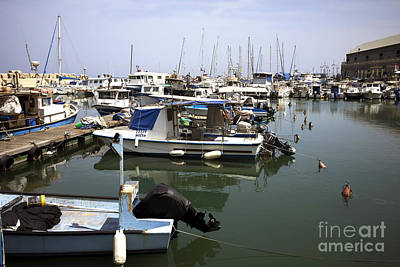 Photograph - All Quiet At Jaffa Port by John Rizzuto