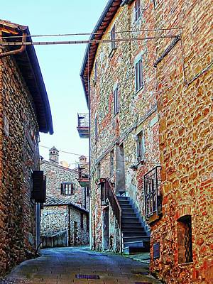 Photograph - All Quiet In Panicale by Dorothy Berry-Lound