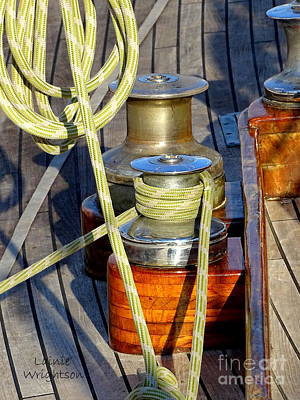 Photograph - All Ready On Deck by Lainie Wrightson