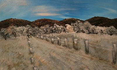 Painting - All Roads Lead To Frozen Ranch by Etta Harris
