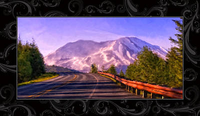 Painting - All Roads Lead To The Mountain by Jeanette Mahoney