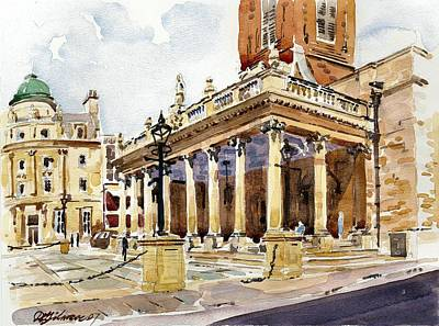 Painting - All Saints Church Northampton by David Gilmore