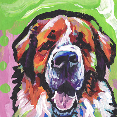 St Bernard Painting - All Saints by Lea S