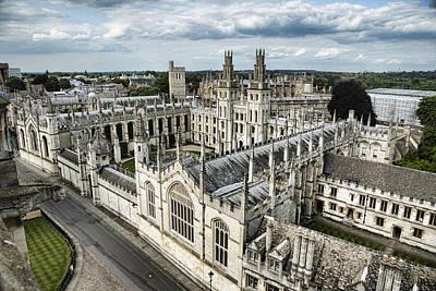 All Souls College - Oxford University Art Print by Stephen Stookey
