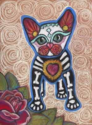 Pastel - All Souls Day Aztec by Ann Hoff