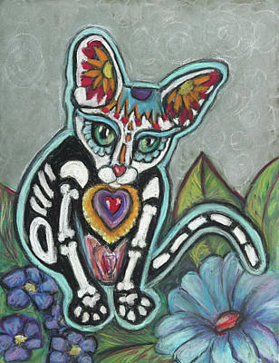 Pastel - All Souls Day Leo by Ann Hoff
