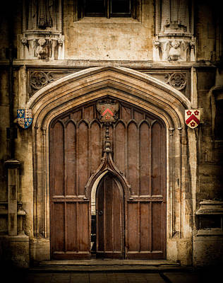 Photograph - Oxford, England - All Souls Gate by Mark Forte