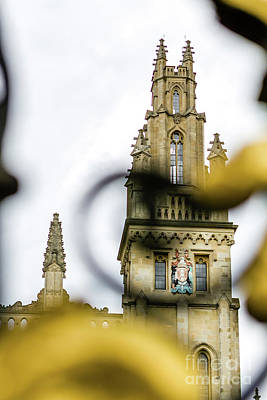 Photograph - All Souls, Oxford, England, Uk by Tom Rydel
