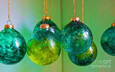 Blown Glass Photograph - All Spruced Up by Debbi Granruth