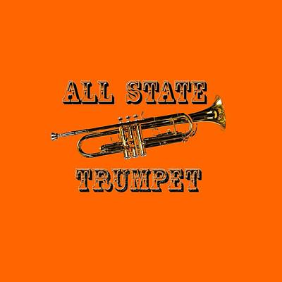 Photograph - All State Trumpet by M K Miller