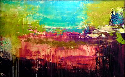 Painting - All That Glitters Isnt Gold by Holly Anderson