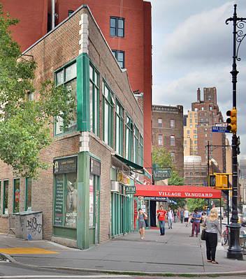 All That Jazz - Greenwich Village Vangaurd  Art Print by Jeffrey Friedkin