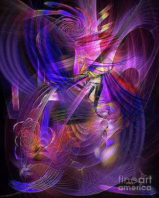 Digital Art - All That Jazz by John Beck