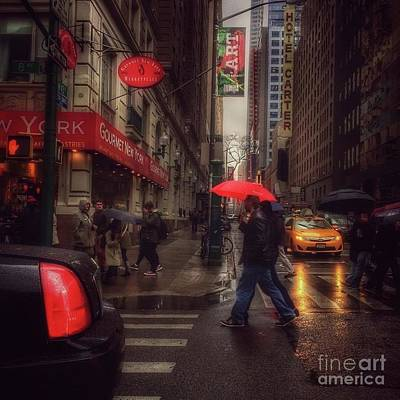 Photograph - All That Jazz. New York In The Rain. by Miriam Danar
