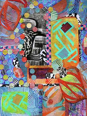 Mixed Media - All That Jazz by Polly Castor