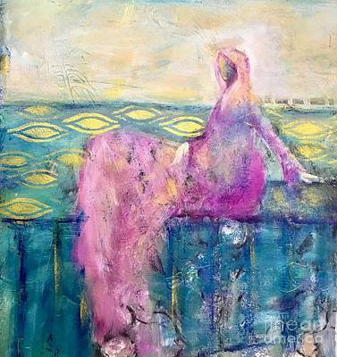 Painting - All That Moves Her by Gail Butters Cohen