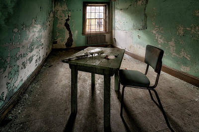 Photograph - All That Remains by John Hoey