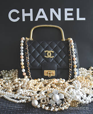 Chanel Wall Art - Photograph - Timeless Beautiful Accessories  by To-Tam Gerwe