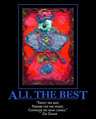 Digital Art - All The Best by Sylvia Greer