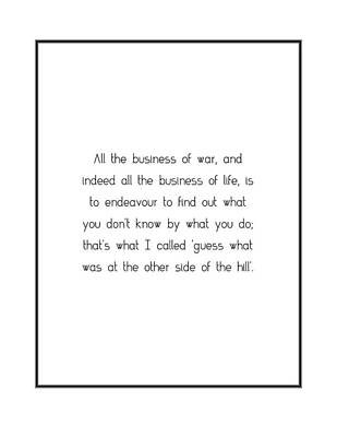 Digital Art - All The Business Of War,... by Famous Quotes
