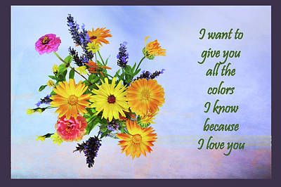 Photograph - All The Colors I Know by Randi Grace Nilsberg
