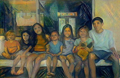 Digital Art - All The Kids.2 by Richard Laeton