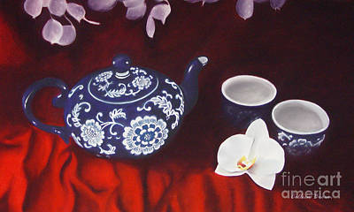 All The Tea In China Art Print by Colleen Brown