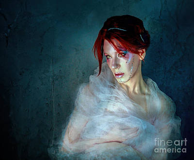 Melancholia Wall Art - Photograph - All Those Moments Lost Like Tears In The Rain by Spokenin RED