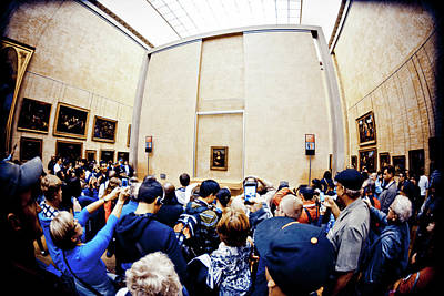 Photograph - All-to-do About The Mona Lisa by Mariana Carrillo