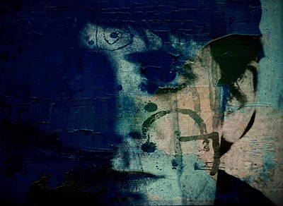 London Tube Digital Art - All Tomorrow's Parties - Lou Reed by Paul Lovering