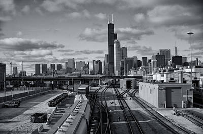 All Tracks Lead To Chicago Art Print