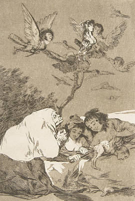 Relief - All Will Fall by Francisco Goya
