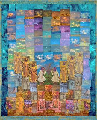 Tapestry - Textile - All Your Dreams Come True by Roberta Baker