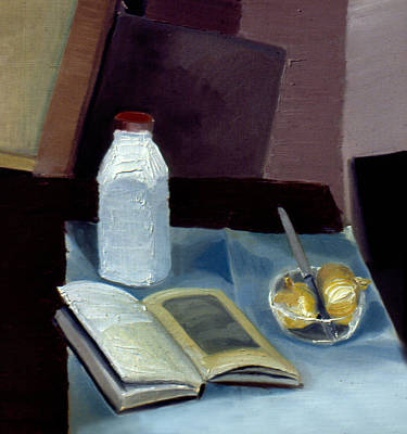 Photograph - Alla Prima Still Life Study 1977 by Nancy Griswold