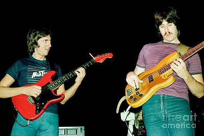 Allan Holdsworth And Jeff Berlin I O U 1983 Tour In Berkeley Ca Art Print