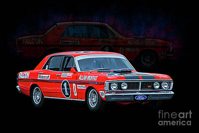 Photograph - Allan Moffat Ford Falcon Xy Gtho Phase IIi by Stuart Row