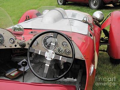 Photograph - Allard J2 Racer. by Neil Zimmerman