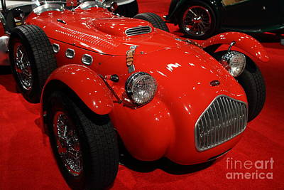 Allard J2x Front Angle Art Print by Wingsdomain Art and Photography