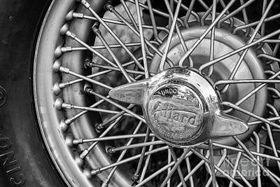 Photograph - Allard Wire Wheel by Dennis Hedberg