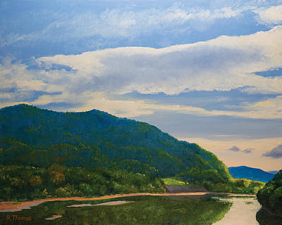 Allegheny River Painting - Allegheny September by Bob Thomas