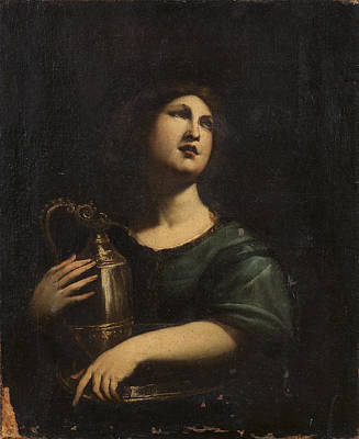 Allegorical Figure Painting - Allegorical Figure With A Jug by MotionAge Designs