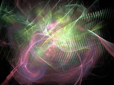 Digital Art - Allegorical Transformation by Jeff Iverson