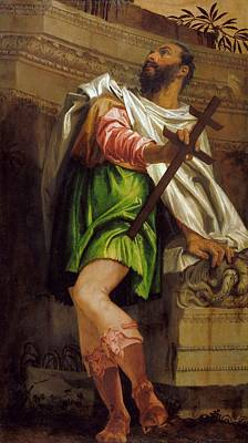 Paolo Caliari Veronese Painting - Allegory Of Navigation With A Cross Staff Averroes by MotionAge Designs