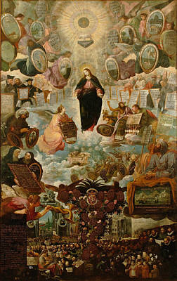 Painting - Allegory Of The Immaculate Virgin by Juan de Roelas