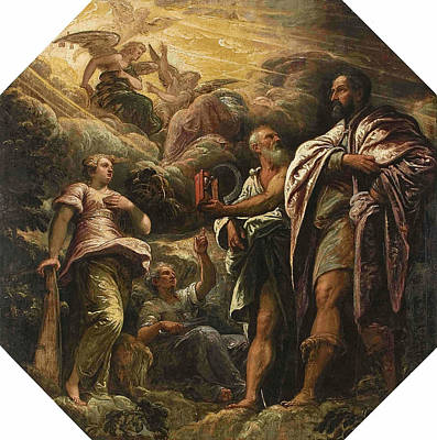 Painting - Allegory by Tintoretto